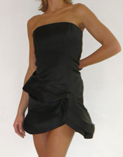 location robe bustier sculpturale Alice Olivia