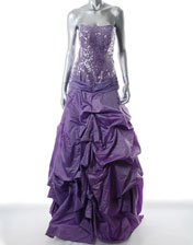 location robe de soiree lilas