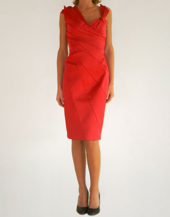 location de robe de cocktail rouge Karen Millen