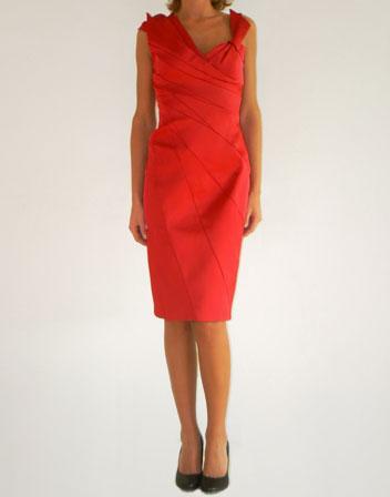 location de robe de cocktail rouge Karen Millen
